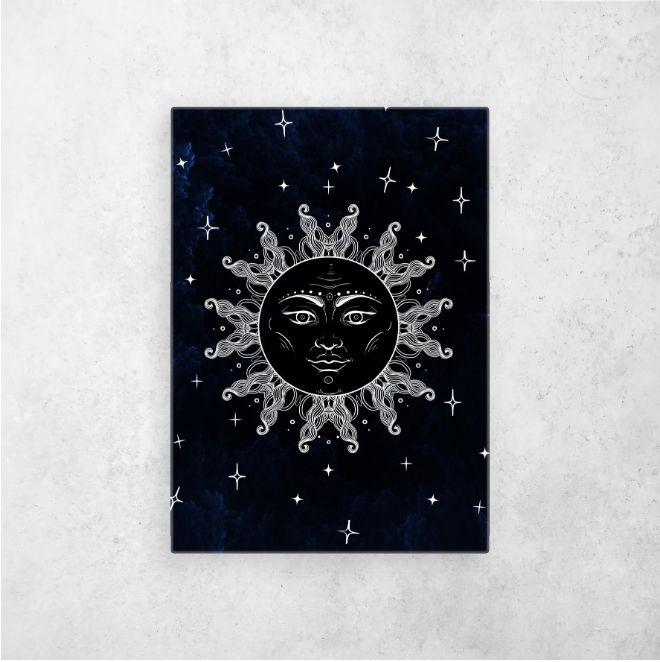 #sunandmoon #moonandsun #vintagesunandmoon #solyluna #moon #moonphases | Displate thumbnail