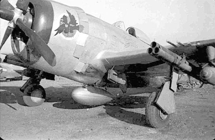 USAAF 42 26707 P 47D Thunderbolt 9AF 12AF 57FG65FS Fighting Cocks 59 Belle Carol