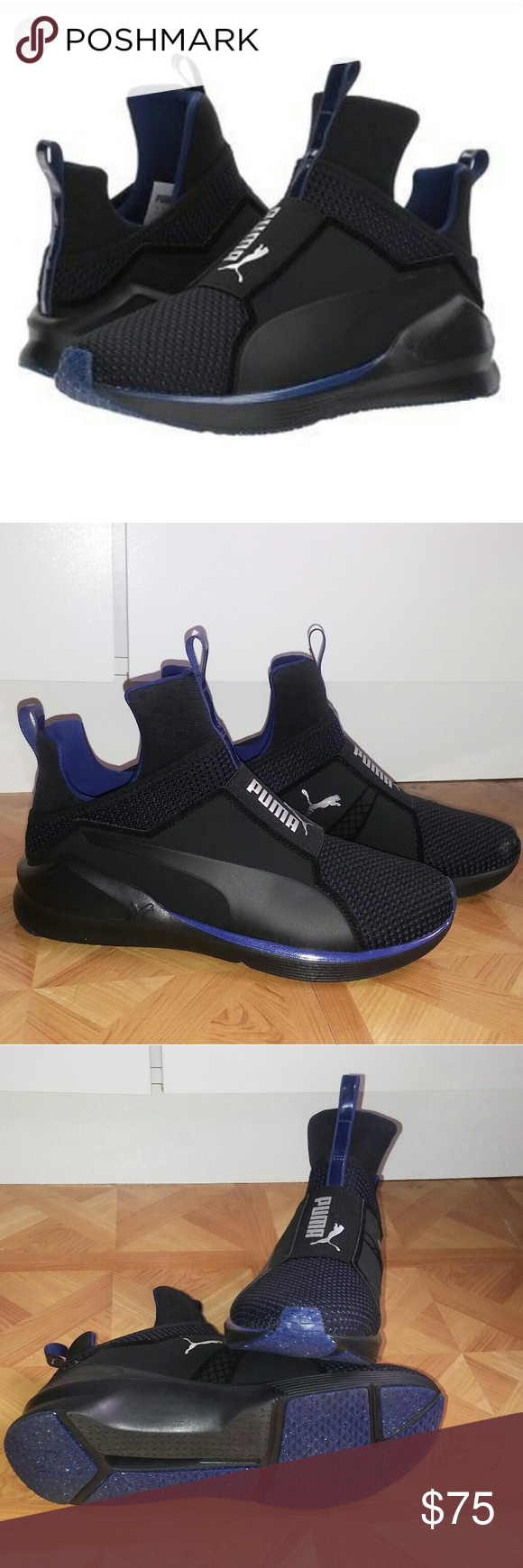 acd330b53d2b PUMA - Fierce Velvet VR (Puma Black Icelandic l 😍 -Breathable mesh upper