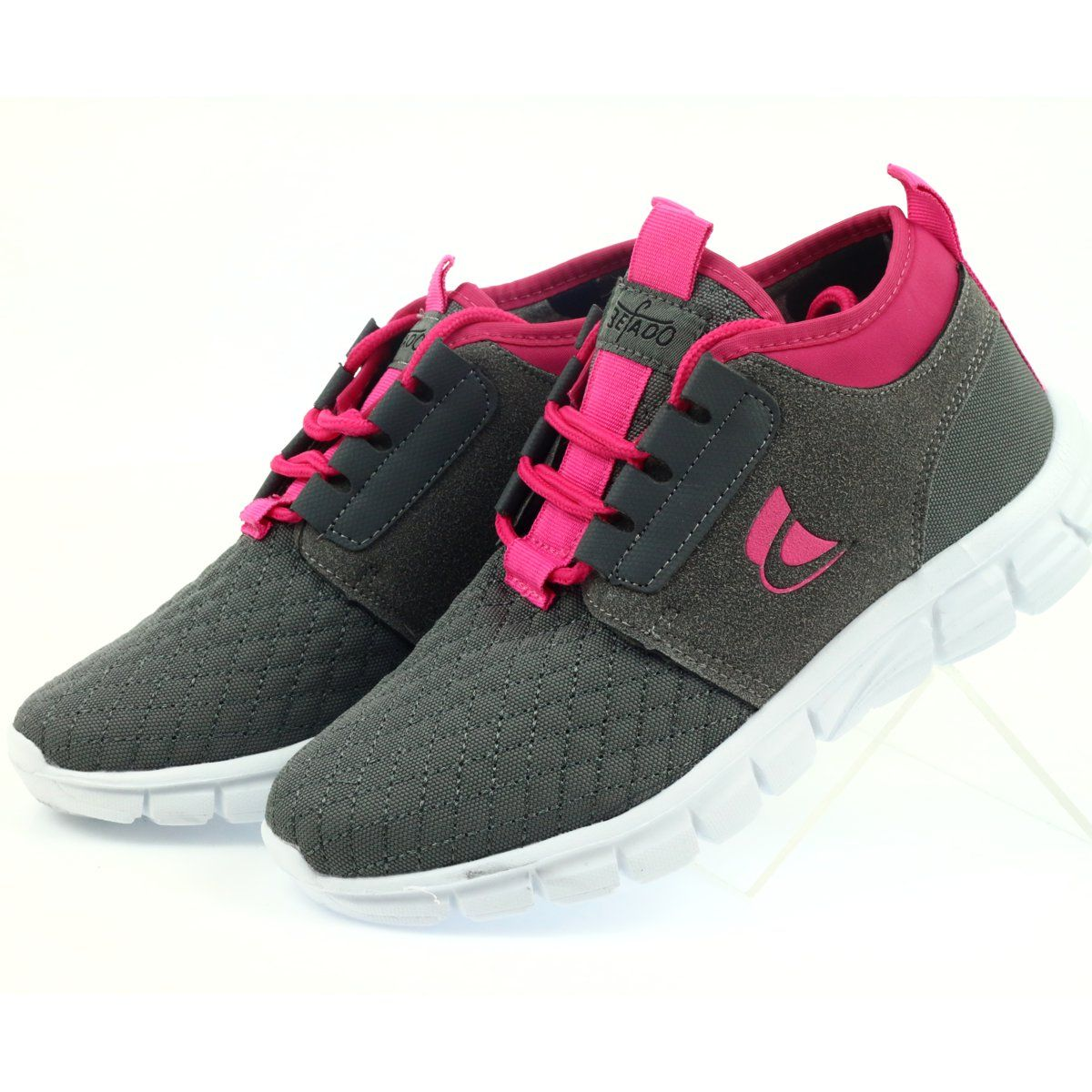 Befado Sportowe 516y032 Szare Dc Sneaker Sneakers Shoes