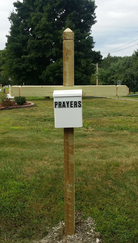 Prayer mailbox for community use Highland Mills United