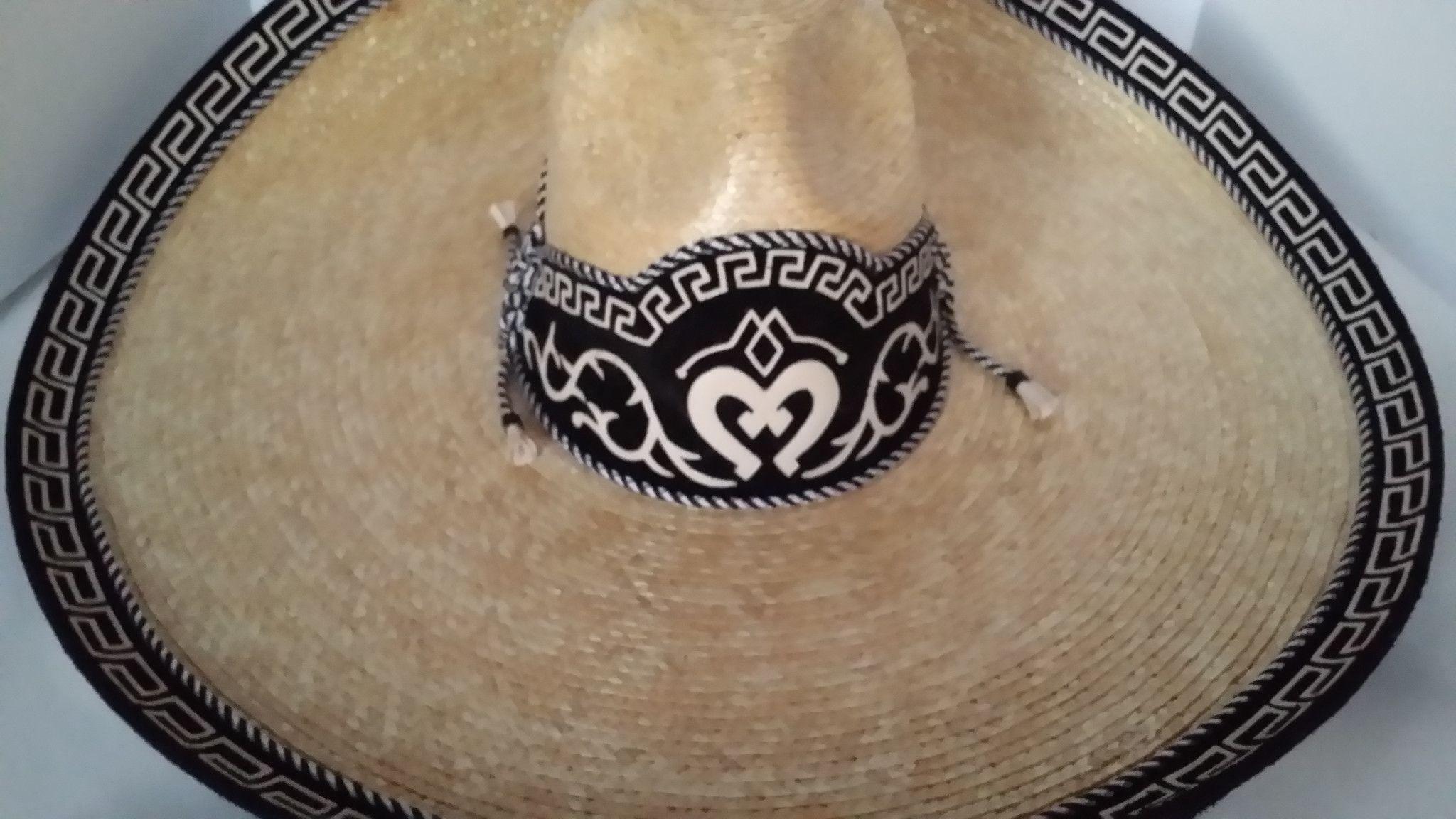 Sombrero Charro de Paja Trigo. Charro Hats 6bfaffd34f6