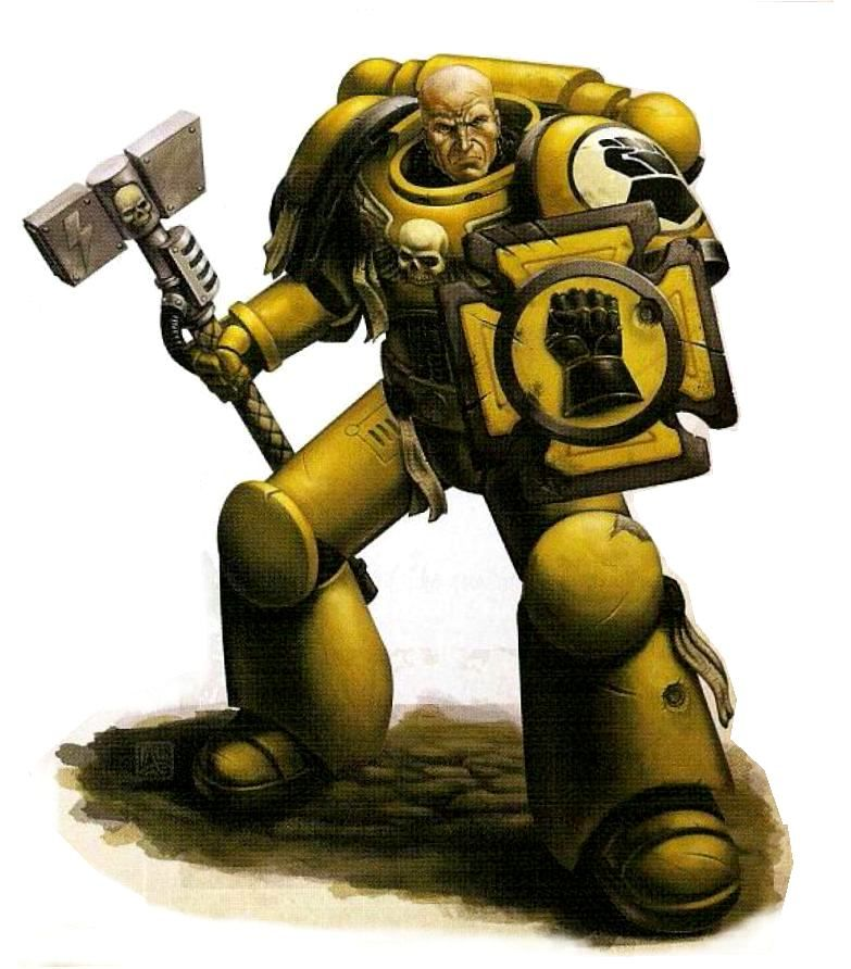 Imperial fists veteran battle brother loyalist imperial fists imperial fist warhammer art - Imperial fists 40k ...