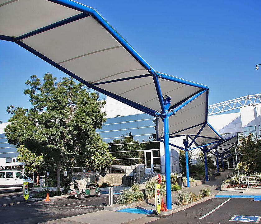 Gallery Of Covered Walkway Tensile Membrane Structures 1 Membrane Structure Covered Walkway Walkway