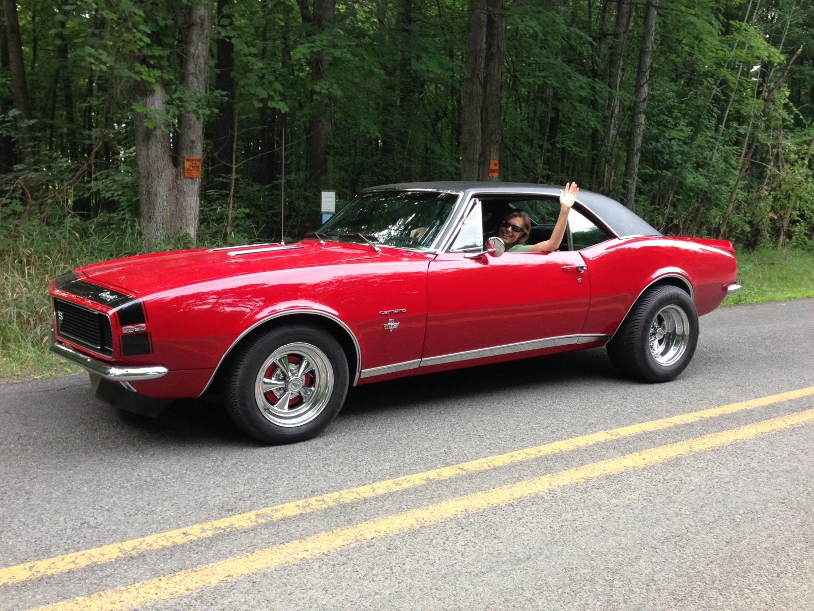 True Muscle Car Fan Stories: A Girl, A Dream, And a 67 Camaro RS/SS ...