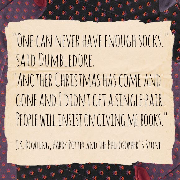 Image result for dumbledore sock christmas quotes