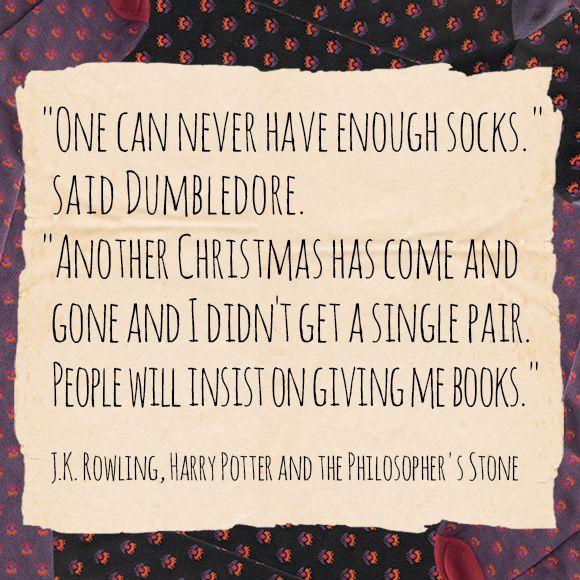 Image result for dumbledore sock christmas quotes Nerdipop