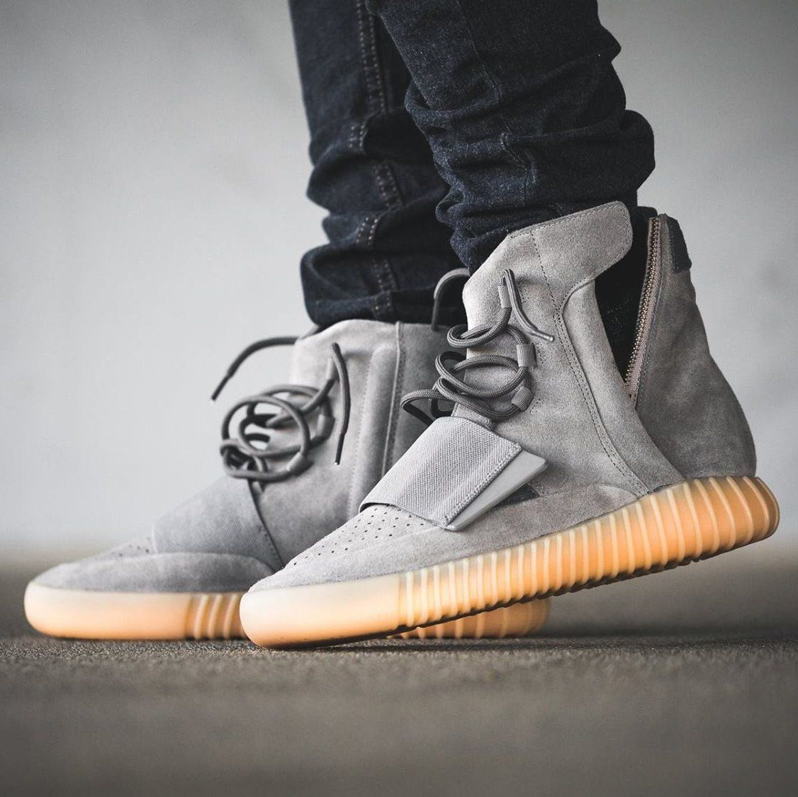 Adidas Yeezy Boost 750 Gum #Leather, #Premium, #Sneakers