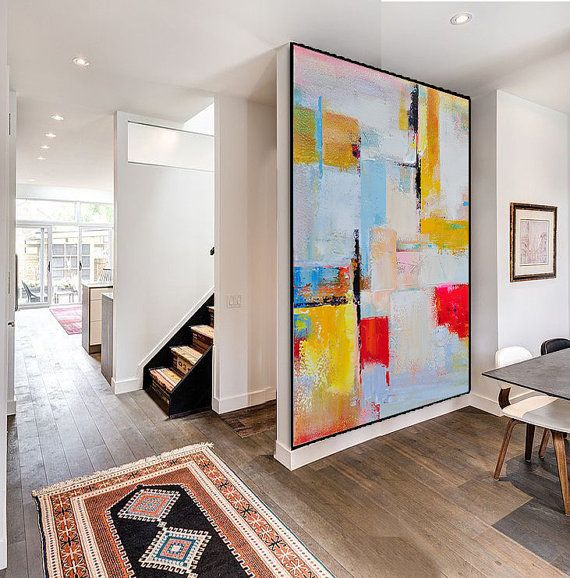 Handmade Extra Large Contemporary Painting, Huge Abstract Canvas Art,  Original Artwork   By Leo, Celine Ziang Art