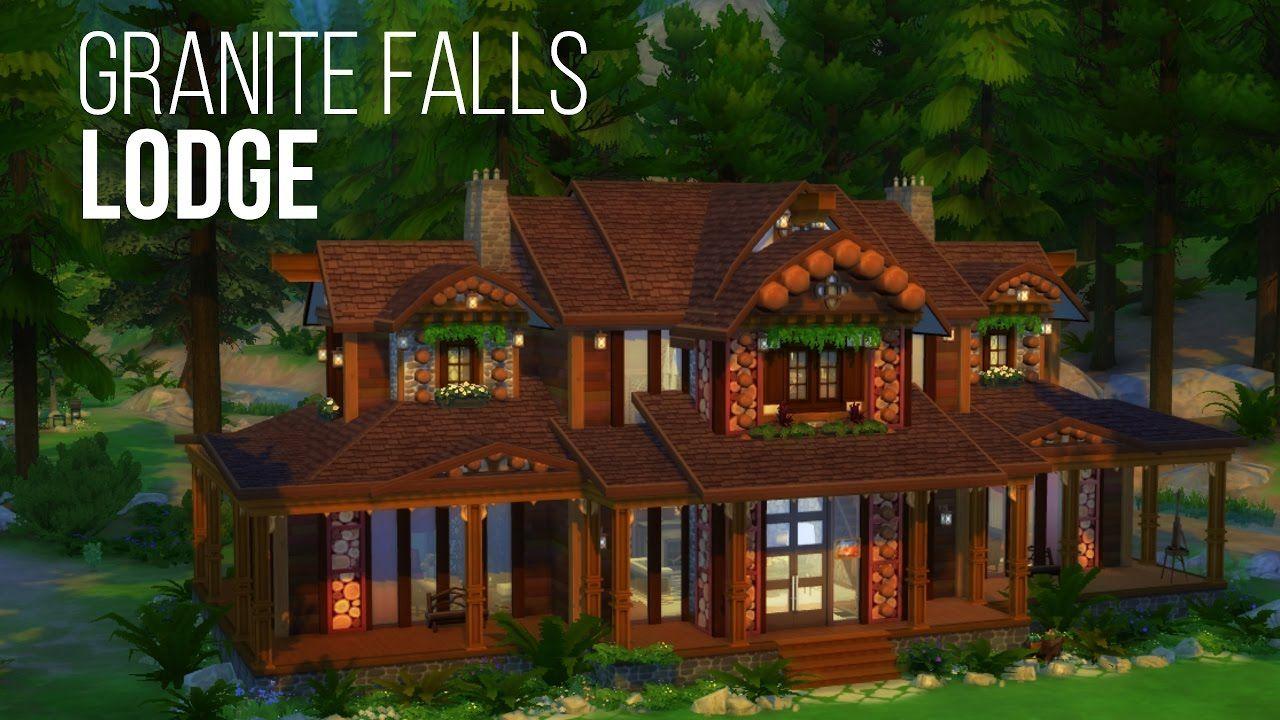 Granite Falls Sims 4 Outdoor Retreat