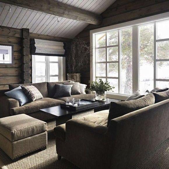 Modernistisk hytte inspirasjon   Home   Hytte interiør, Hytte, Interiør BX-66
