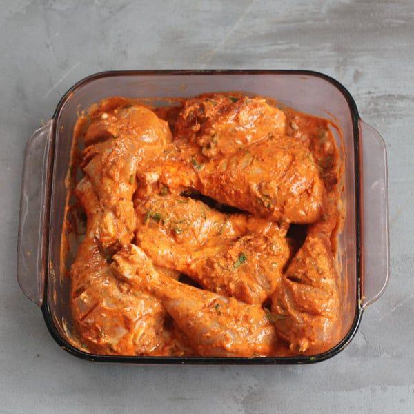 Tandoori Chicken - Instant Pot #tandoorichicken