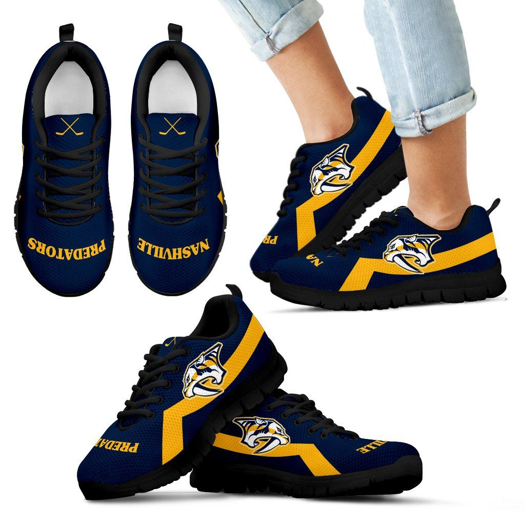 Nashville Predators Line Logo Sneakers Sneakers