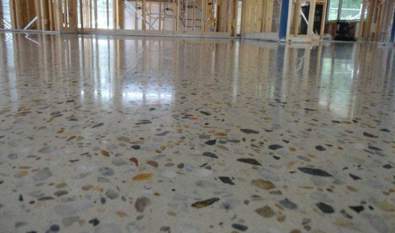 Floors Every Home Has At Least One Polished Concrete Concrete Floors Diy Polished Concrete Floor