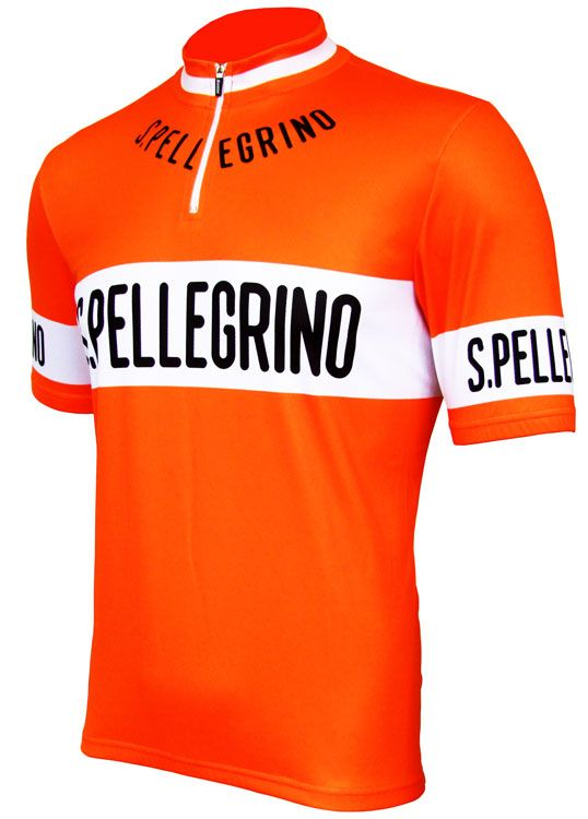 Besides the Santini Giro jerseys this may be one of the best mens jerseys I  ever saw San Pellegrino Retro Jersey - Short Sleeve 1ea05fd4b