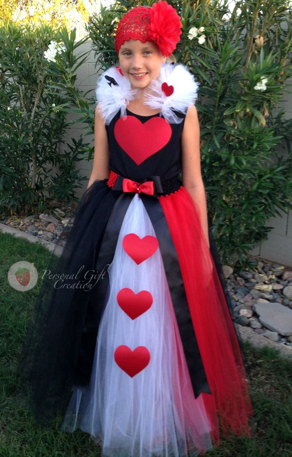 Queen of hearts tutu dress by Personal Gift Creation