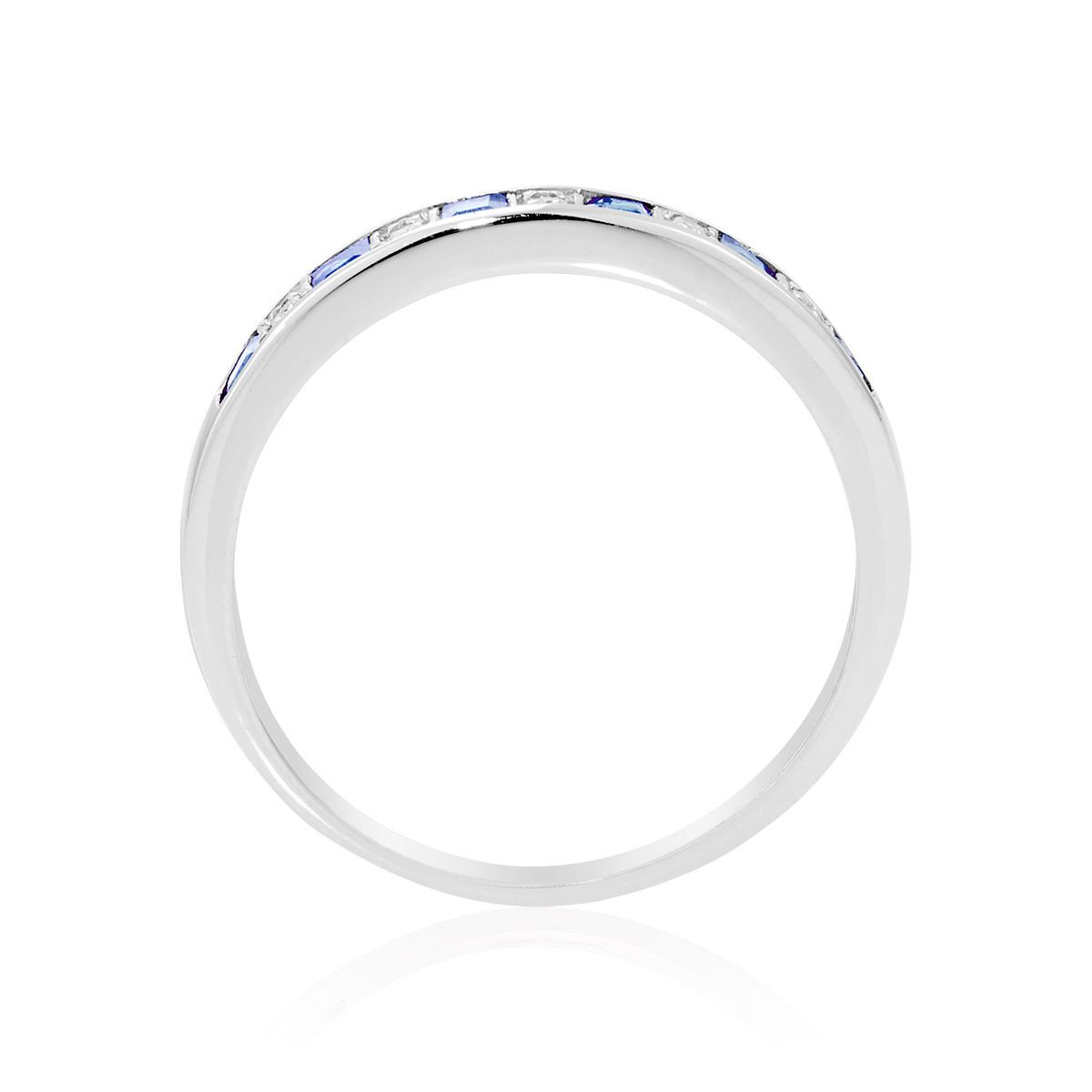 bague or blanc taille 64
