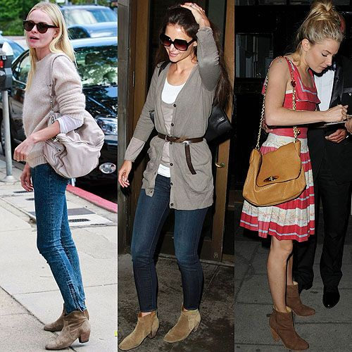Loving suede ankle boots | Fashion   Accessories | Pinterest ...