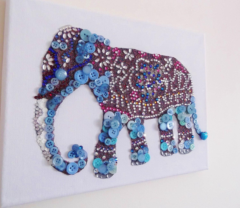 Swarovski Crystal Indian Elephant