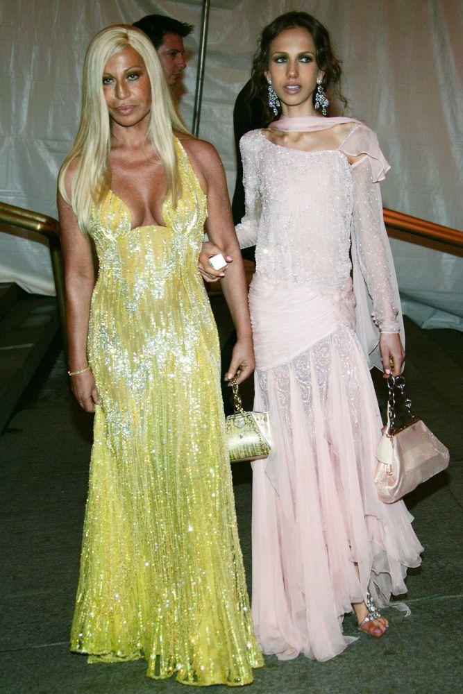 Donatella Versace  Allegra Beck 2005  Costume Institute Gala  Versace Versace fashion Fashion