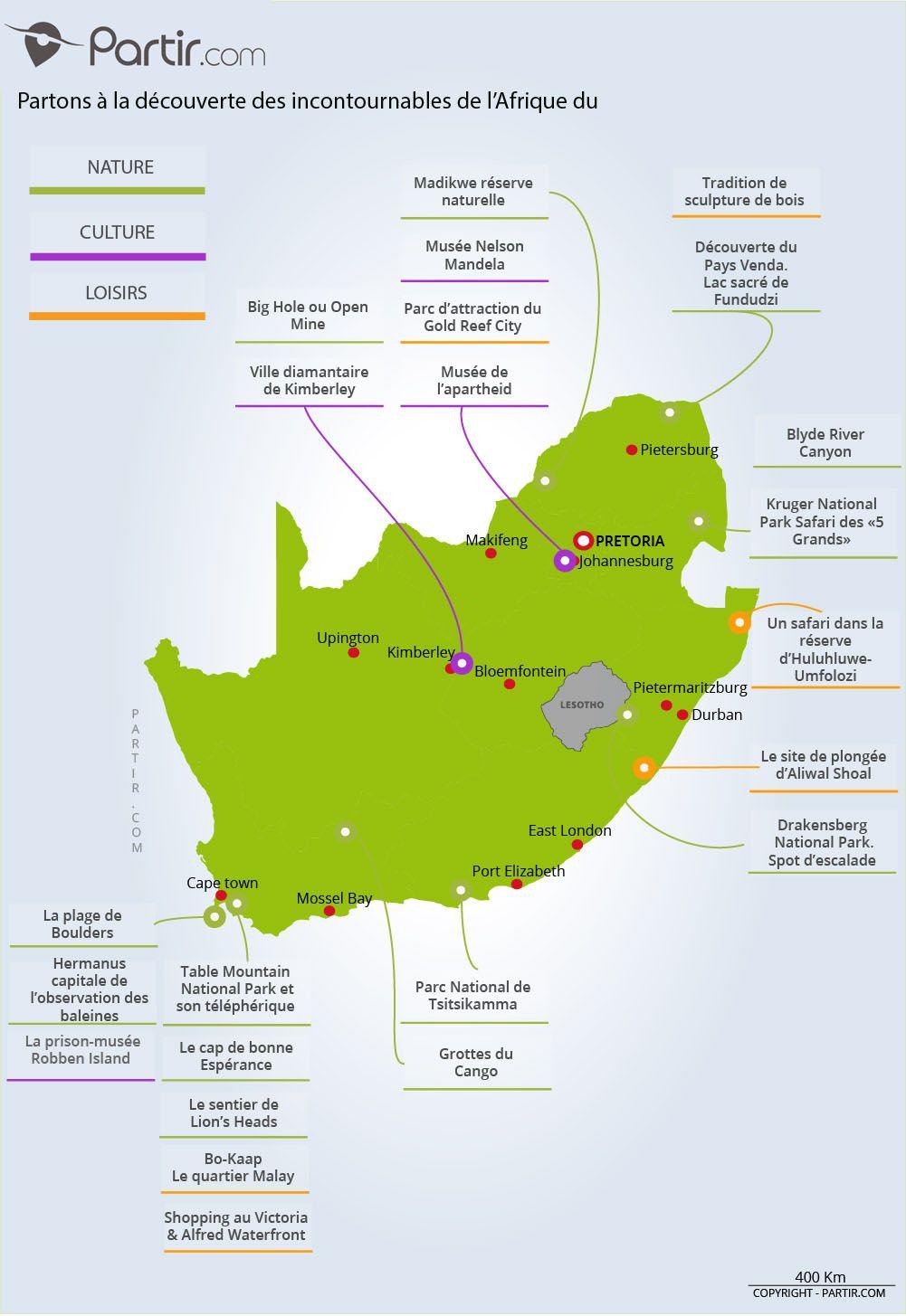 Carte Afrique Du Sud Map Travel Voyage