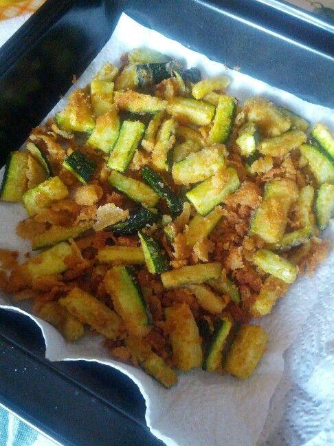 Bastoncini di zucchina fritti! Saporeecolore.blogspot.com