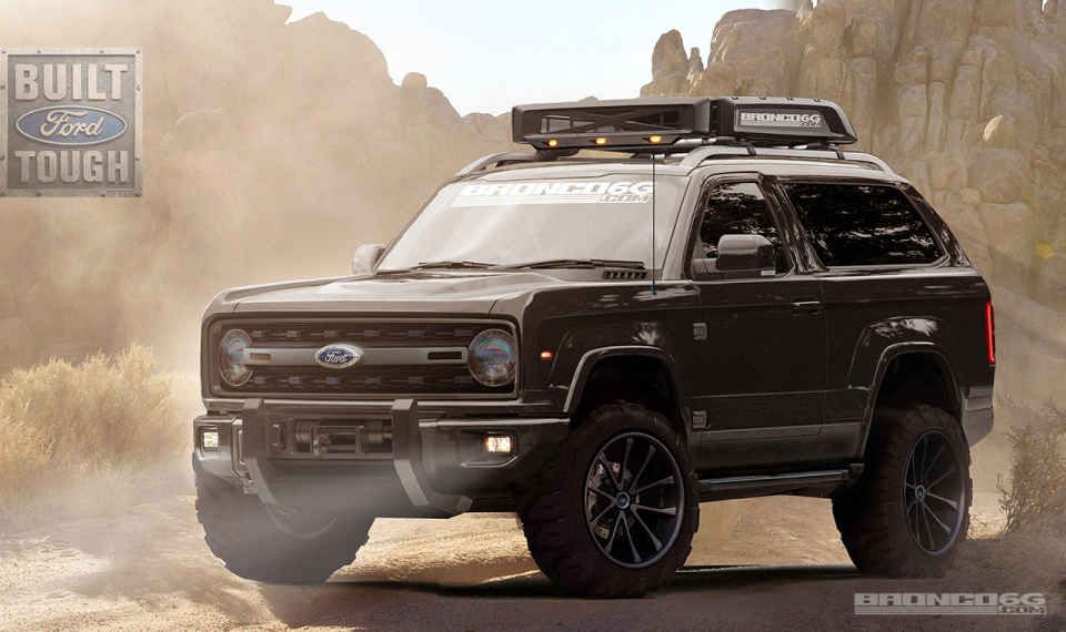 It S Official The Ford Bronco Is Coming Back In 2018 Ford Bronco Bronco Concept Ford Bronco Concept