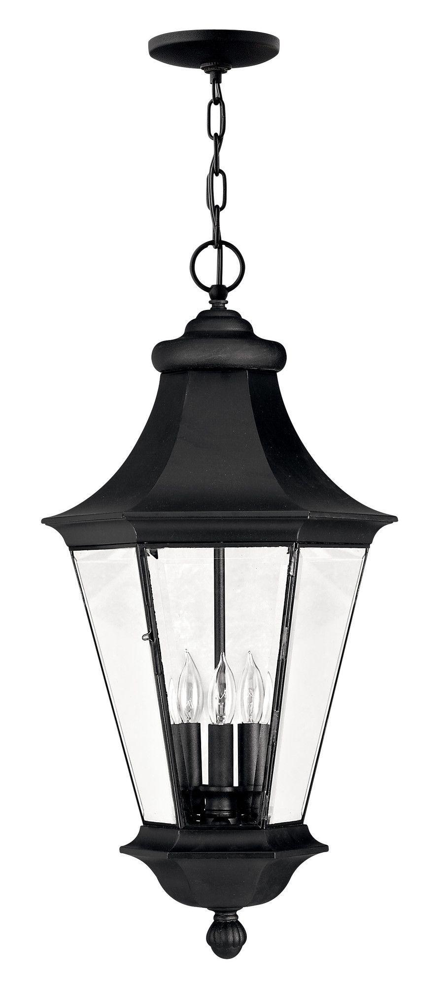 senator 3 light outdoor hanging lantern lights pinterest