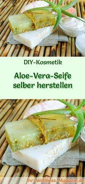 Photo of Make your own aloe vera soap – soap recipe & instructions …
