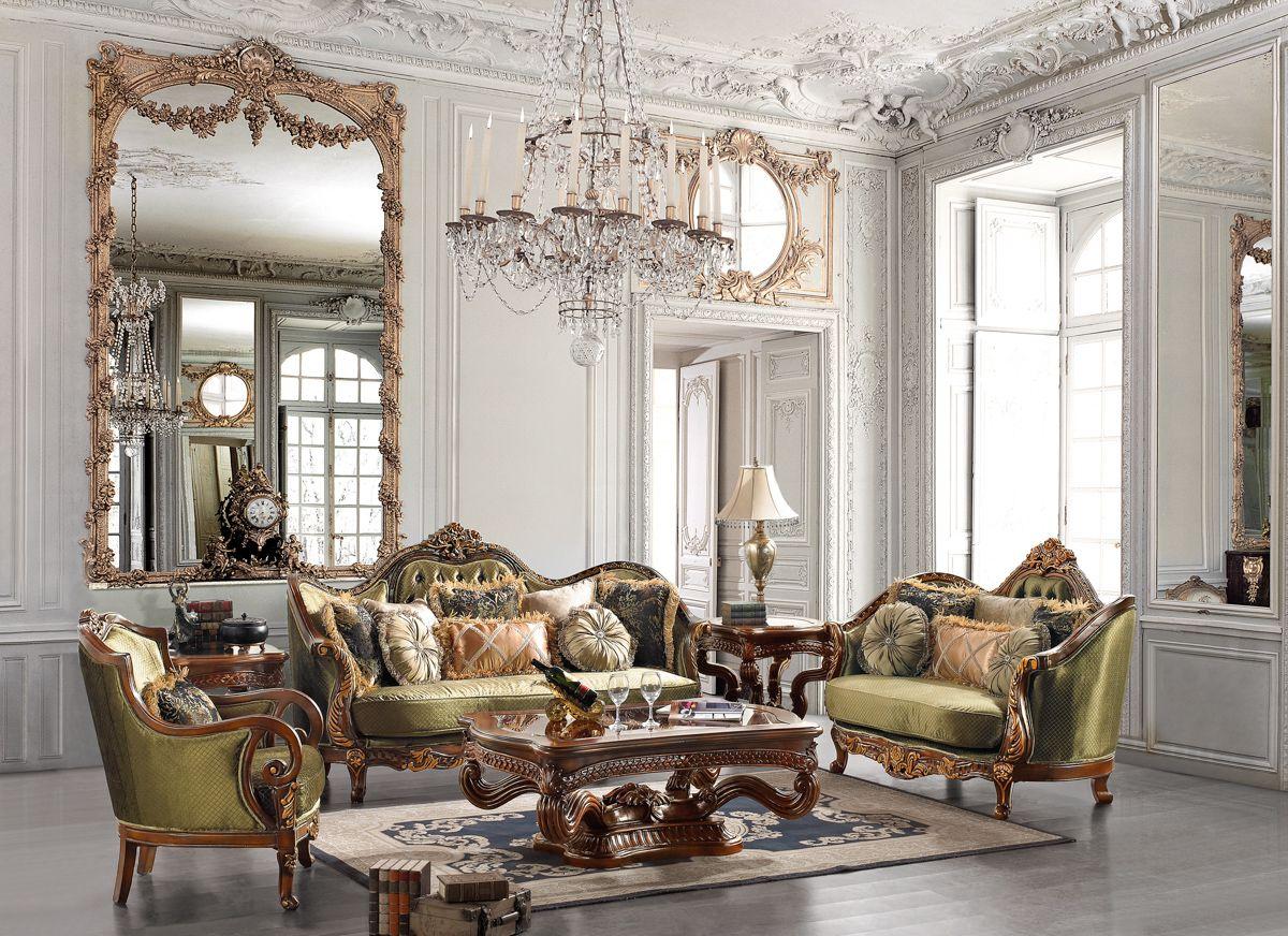 Elegant Furniture Collections Elegant Traditional Formal Living