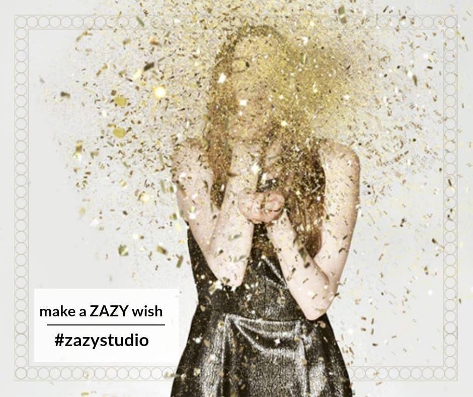 Trebuie să strălucești de sărbători! Make a ZAZY wish și se va întâmpla! ------------ Pachetul -- Make a ZAZY wish -- conține servicii de spălat, tuns, manoperă vopsit, aranjat -- păr lung -- 75 de lei în loc de 140 de lei  Detalii și programări: 0720.307.202 #zazystudio #zazywish #decembrie #cluj