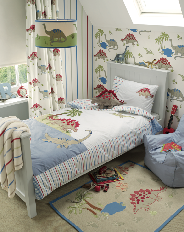Best Laura Ashley Kids Corner Dinosaurs Range Dinosaur Decor 400 x 300