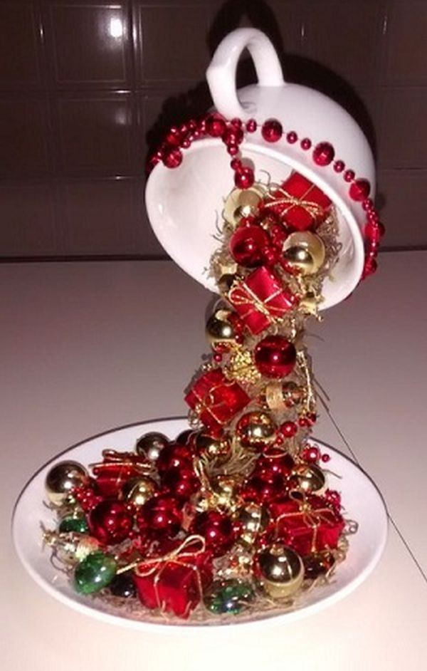 Photo of 17 Amazing Christmas decorations with ornaments from cups, ideas that stimulate our creativity – best decorating ideas