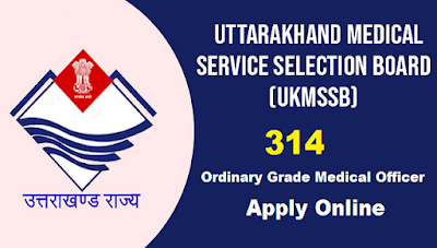 Ukmssb Recruitment 2019 314 Jobs Of Ordinary Grade Medical