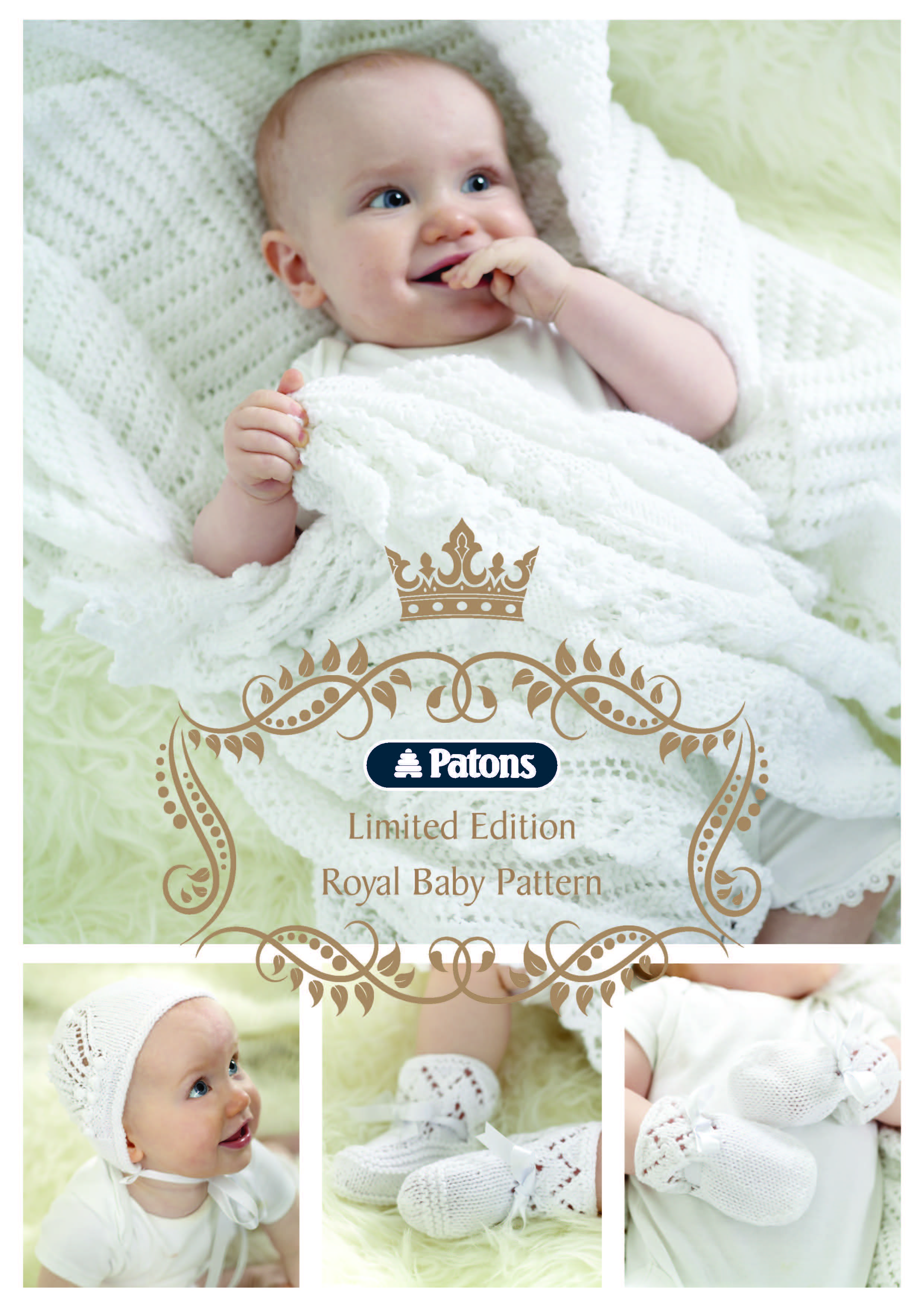Royal baby knitting patterns: free with purchase of any Patons yarn ...