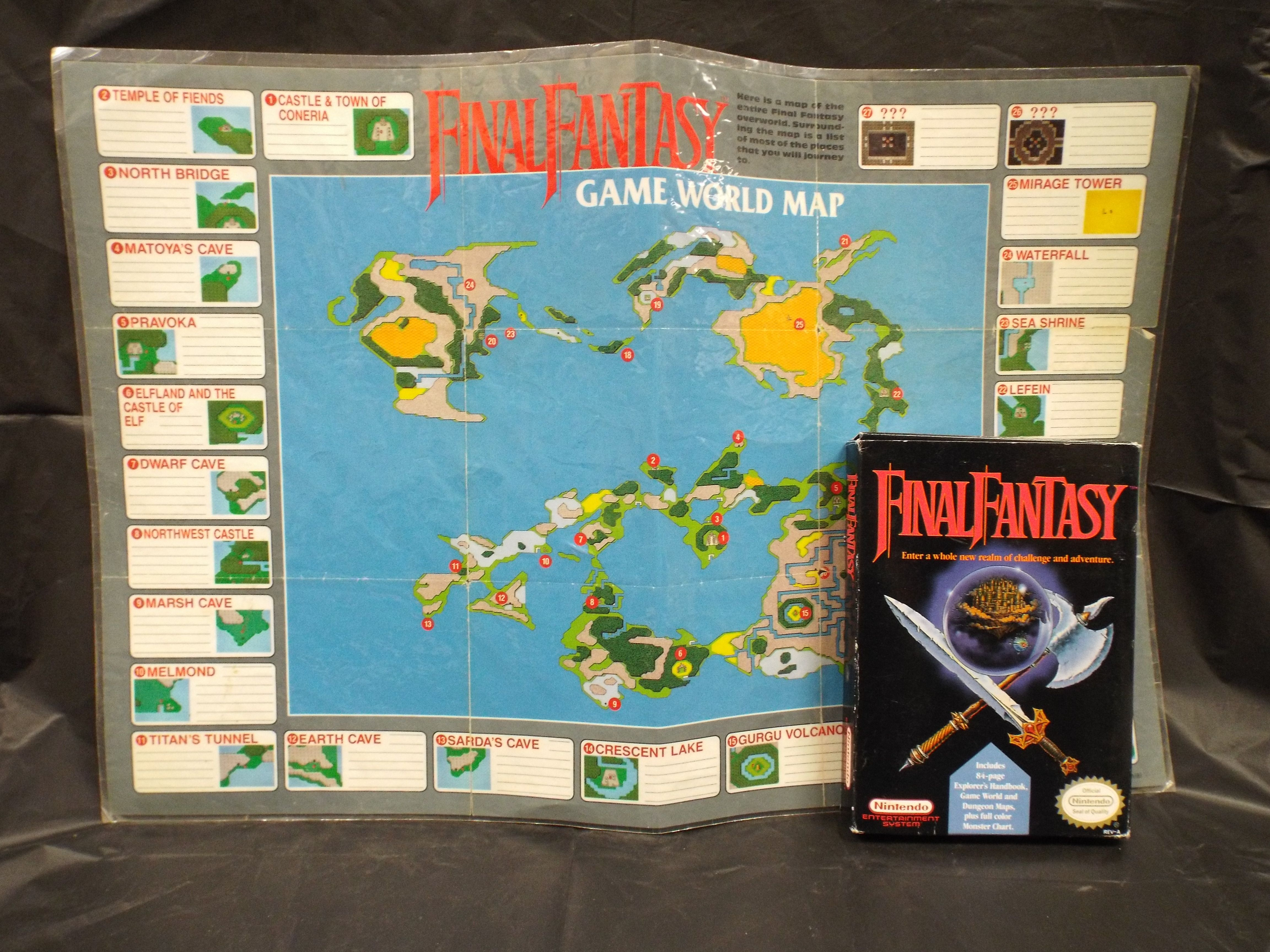 Nes final fantasy with original world map dkoldies blog nes final fantasy with original world map gumiabroncs Images