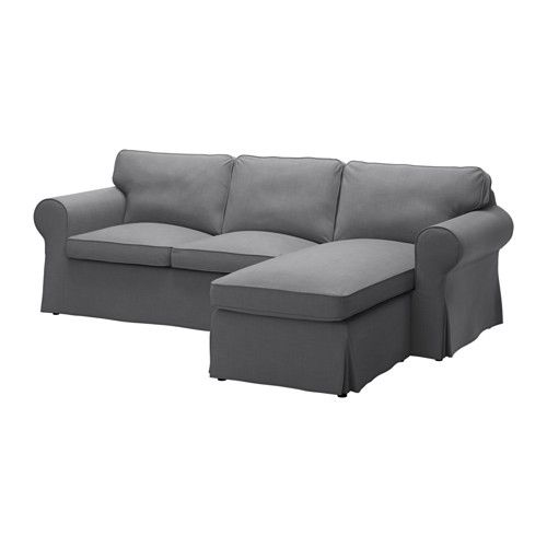 IKEAu0027s EKTORP Sectional, 3 Seat, Nordvalla Dark Gray Nordvalla Dark Gray. Design Inspirations