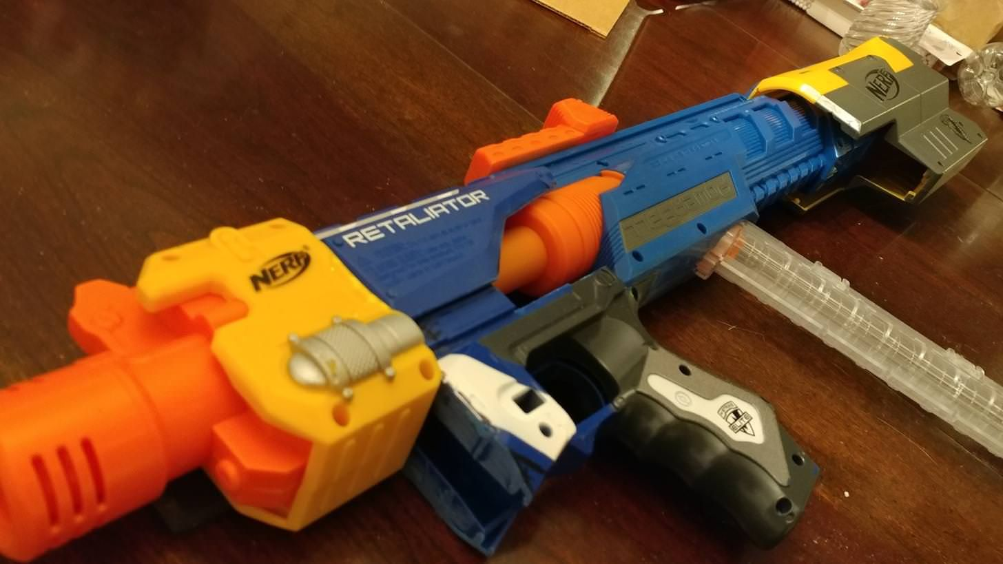 joat wip the potluck a bullpup dart zone powerball nerf mods