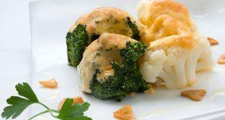 Receta de Coliflor y brócoli con mahonesa de pimentón
