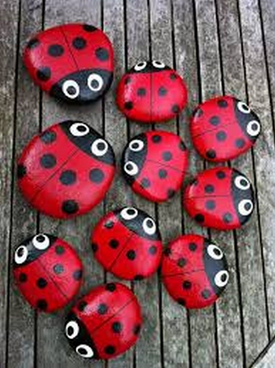 99 Diy Ideas Of Painted Rocks With Inspirational Picture And Words 99architecture Ladybug Rocks Rock Painting Designs Painted Rocks