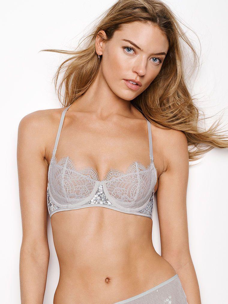 b2383f5b73eea ... Dream Angels - Victoria s Secret. Sujetador sin forro que realza con  lentejuelas