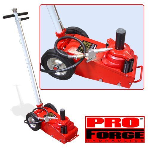 22 Ton Air Hydraulic Floor Jack ProForgeTM >>> Click On