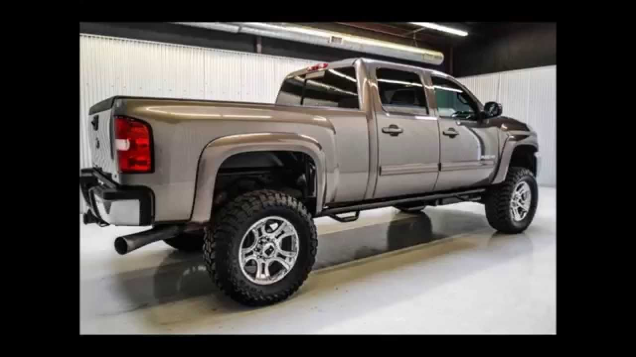 2012 chevy 2500hd diesel crew cab ltz 4x4 lifted truck