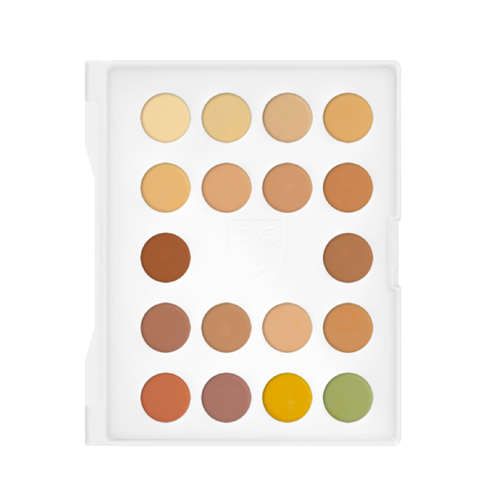 DermaColor Camouflage Mini Palette 3 (With images