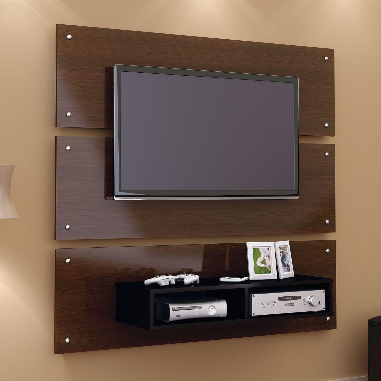 decora o de sala de estar tv na parede Pesquisa Google
