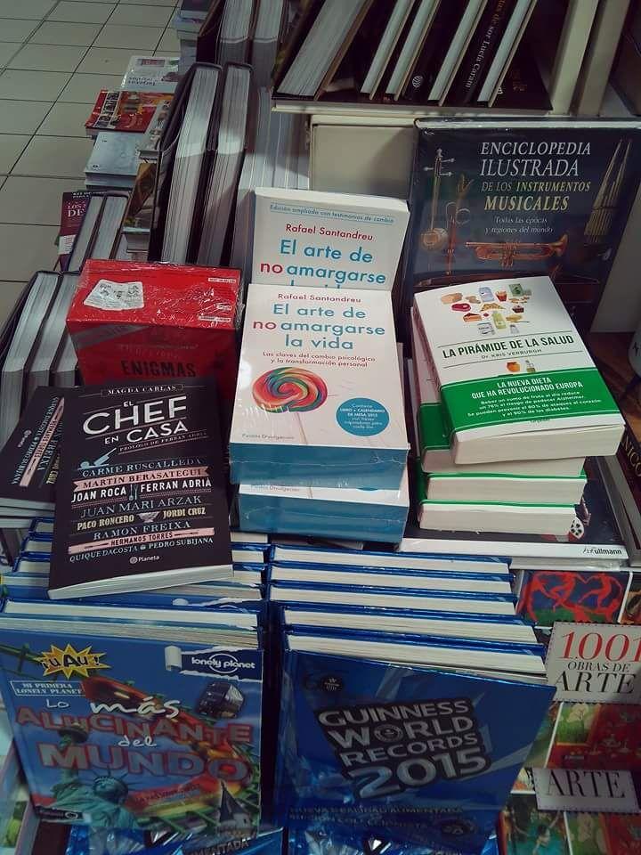 Libros, libros y más libros