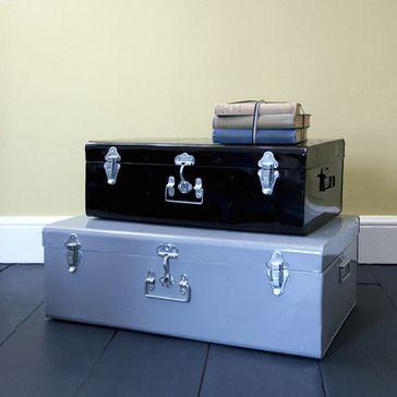 Rhoda Metal Storage Trunk Set Of