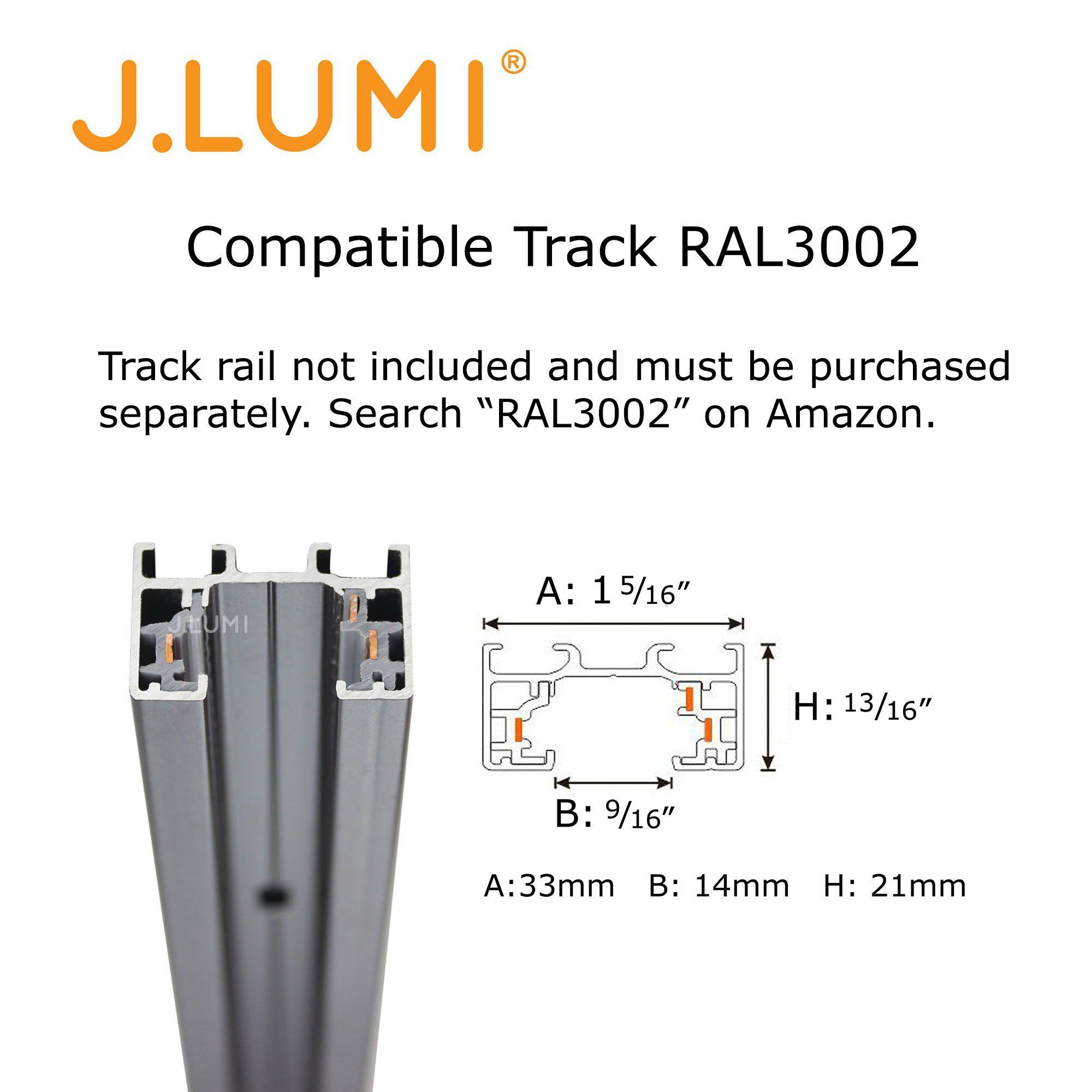 j lumi trk9600 led track lighting