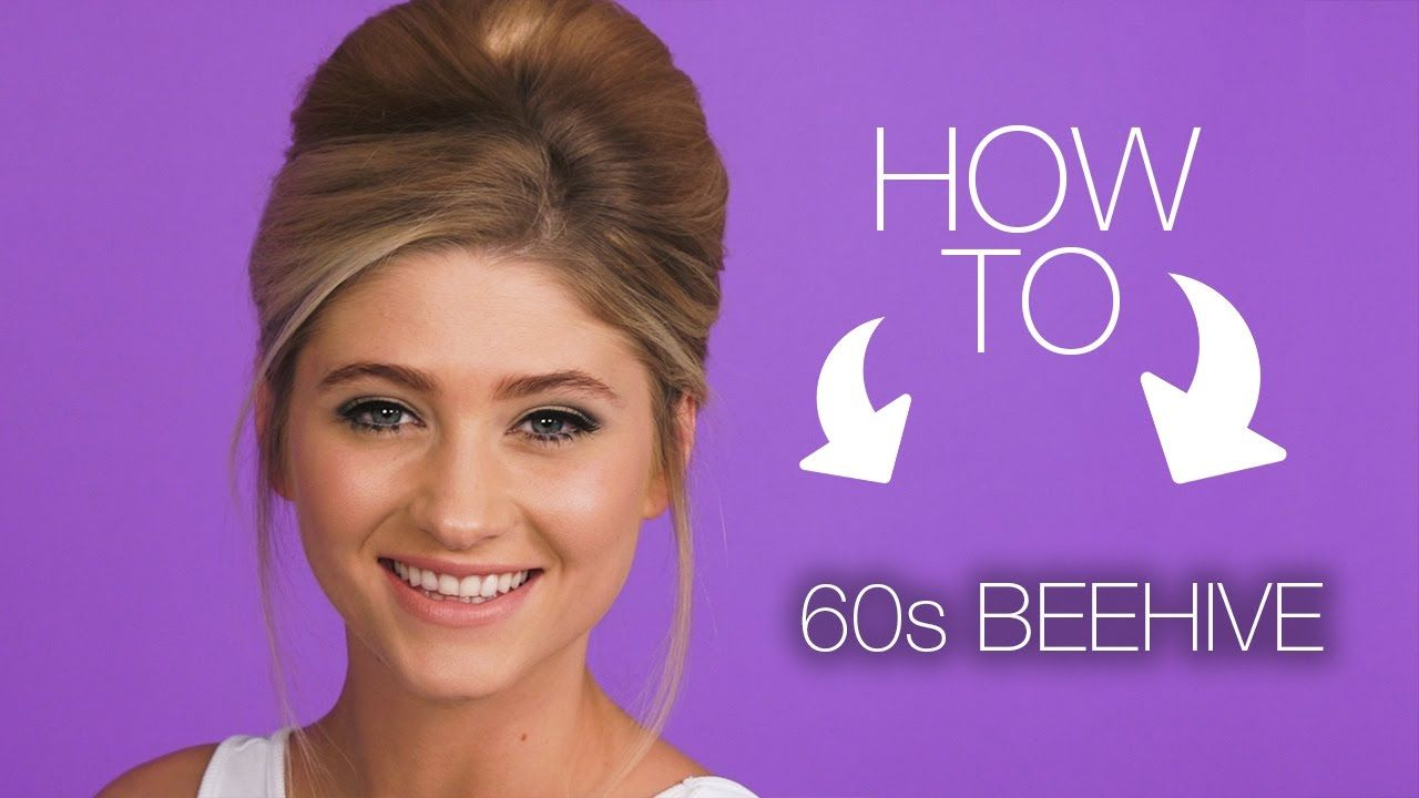 HOW TO  11s Beehive Hair Look  Superdrug - YouTube – easy
