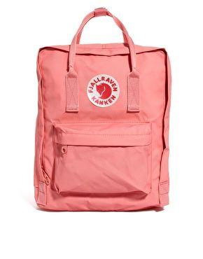 Fjallraven Kanken Backpack -- cute for summer biking and picnics ^_^